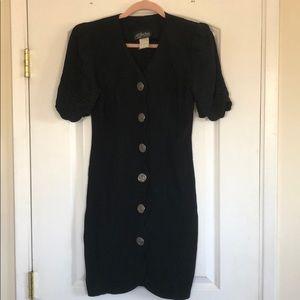 Vintage All That Jazz button down dress